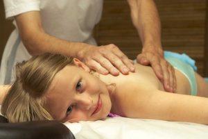 Детский массаж для девочек
