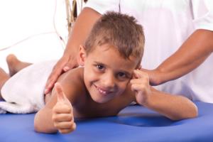 Детский массаж для мальчиков